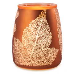 Gold Leaf Scentsy Candle Warmer