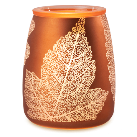 Gold Leaf Scentsy Candle Warmer Scentsy Online Store Shop Here For New Authentic Fragrance Products