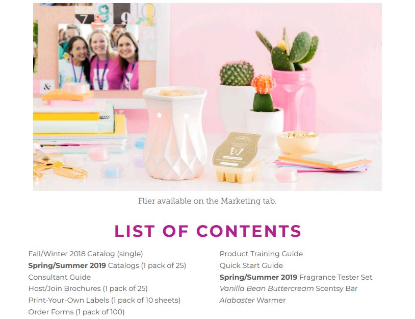 Join Scentsy 49 kit