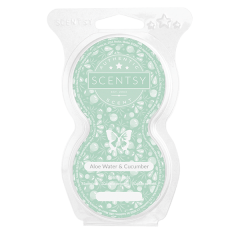 Aloe Water and Cucumber Scentsy Pod