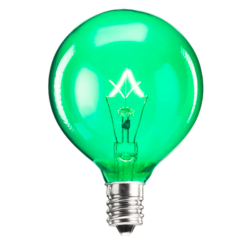 Green Scentsy 25 Watt Bulb