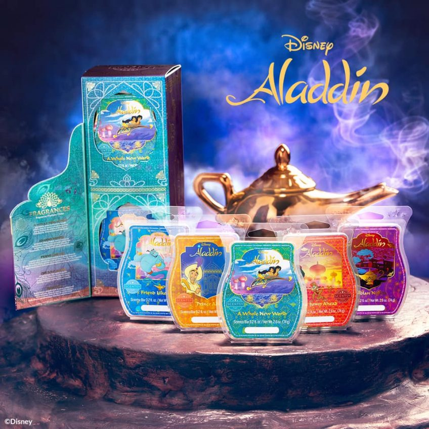 Aladdin Scentsy Wax Bar Collection