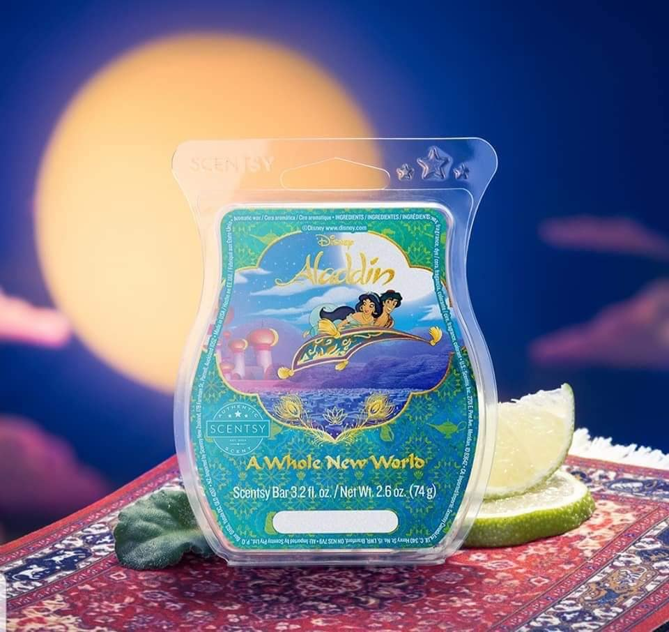 Aladdin Scentsy wax