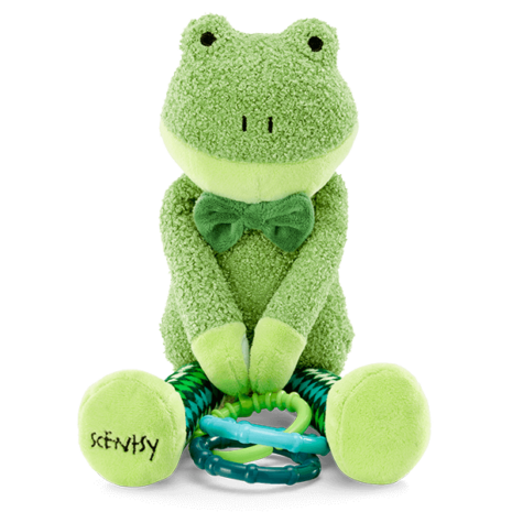 Finley the Frog Scentsy Sidekick