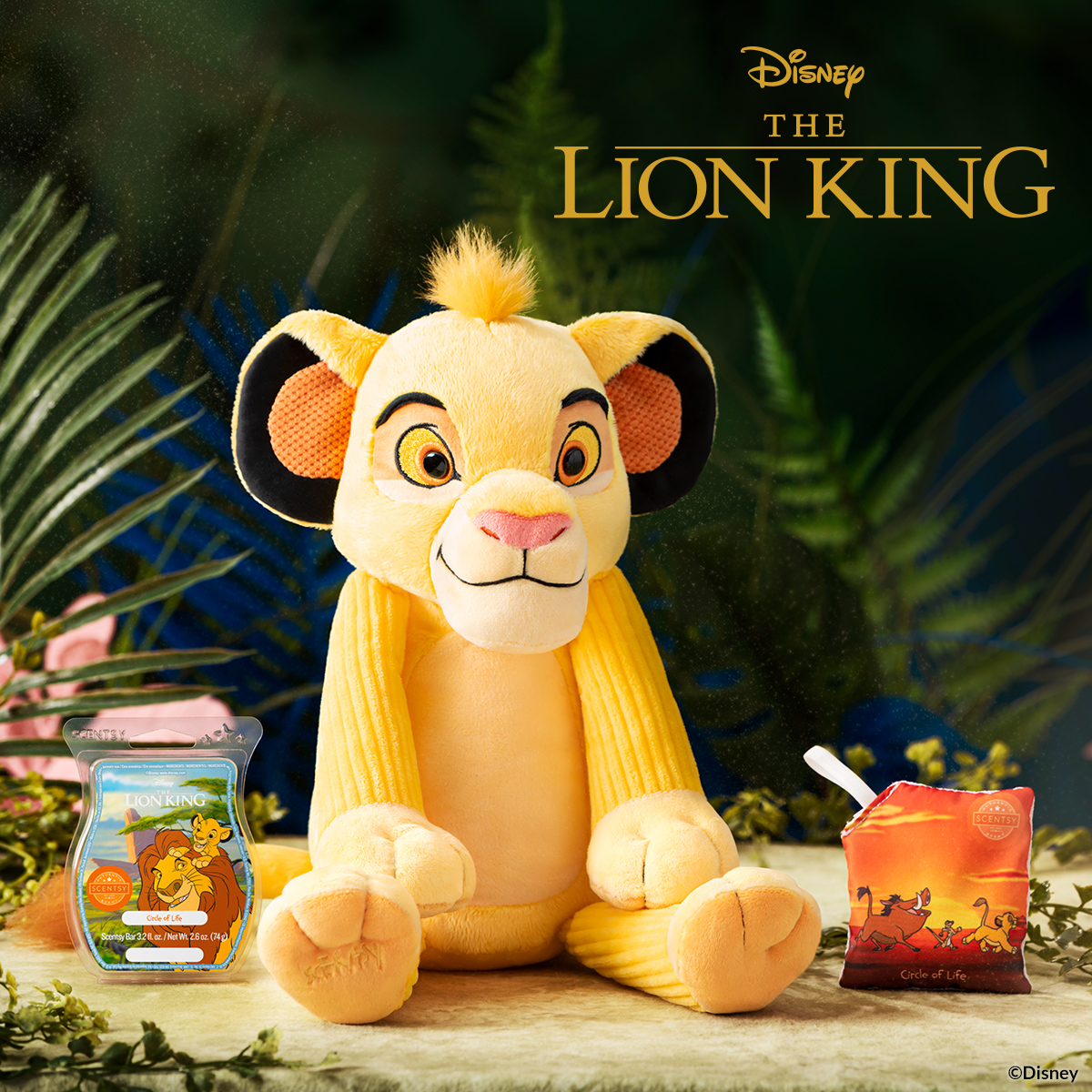 Lion King Scentsy Buddy