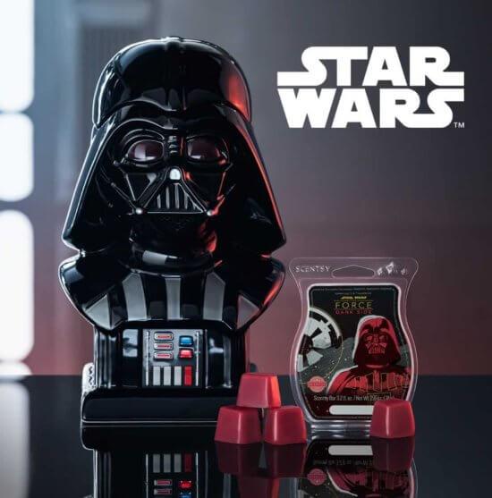 Scentsy Darth Vader Front