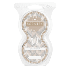 Sheer Leather Scentsy Pod Twin Pack