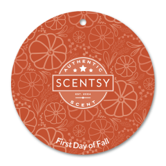 First Day of Fall Scent Circle