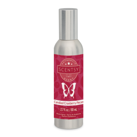 Candied Cranberry Pecan Room Spray