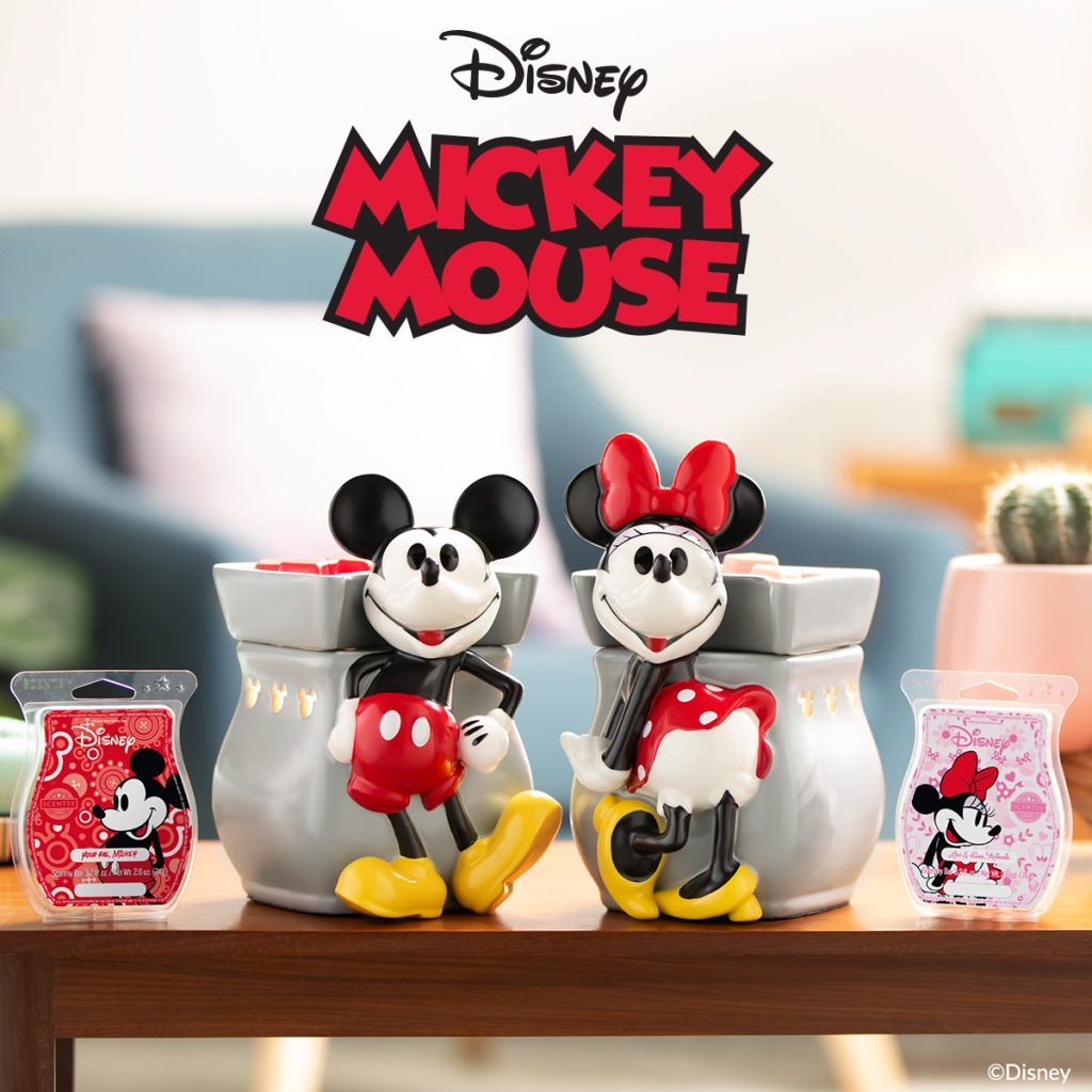 Mickey Mouse Classic Curve Scentsy Warmer