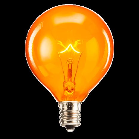 25 Watt Light Bulb - Orange