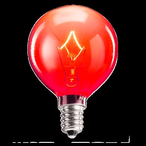 25 Watt Light Bulb - Red