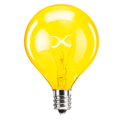 25 Watt Light Bulb - Yellow