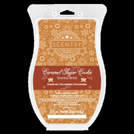 Caramel Sugar Cookie Scentsy Brick