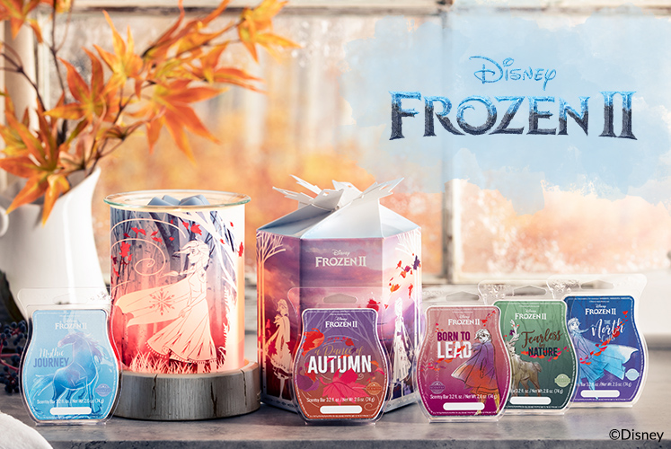 Disney's Frozen 2 Wax Collection and epic Scentsy Warmer!