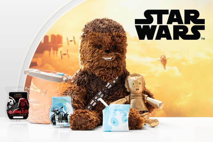 Our new Star Wars™ Collection is available beginning Dec. 4, while supplies last
