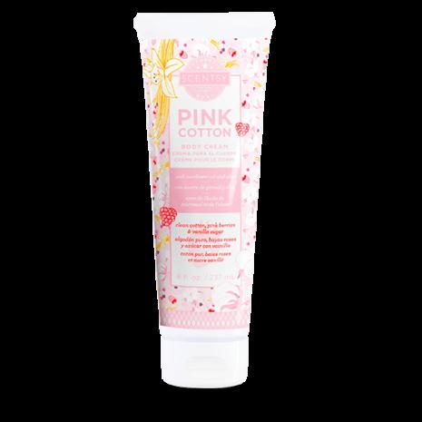 Pink Cotton Body Cream