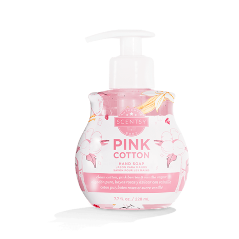 Pink Cotton Hand Soap