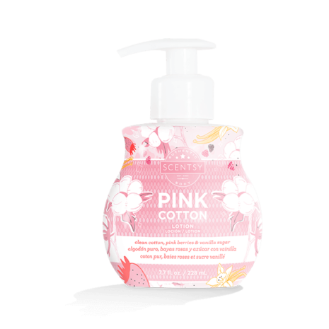 Pink Cotton Lotion