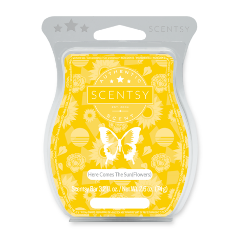 Here Comes the Sun(flowers)Scentsy Bar