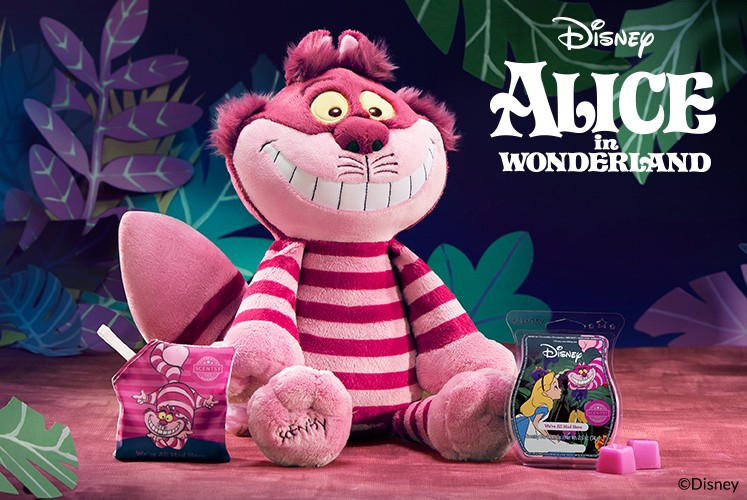 Cheshire Cat Alice In Wonderland Scentsy Buddy