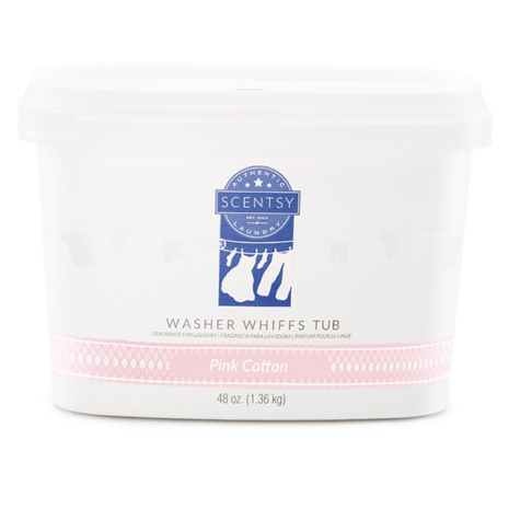 Pink Cotton Washer Whiffs Tub