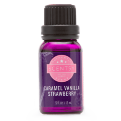 Caramel Vanilla Strawberry Natural Oil Blend