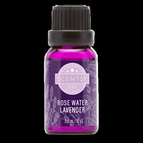 Rose Water Lavender Natural Oil Blend