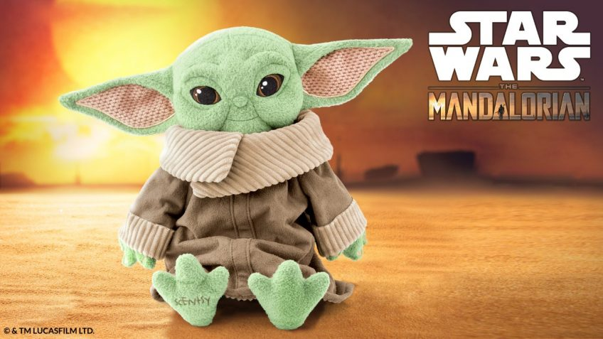 The Child from The Mandalorian is becoming a Scentsy Buddy!