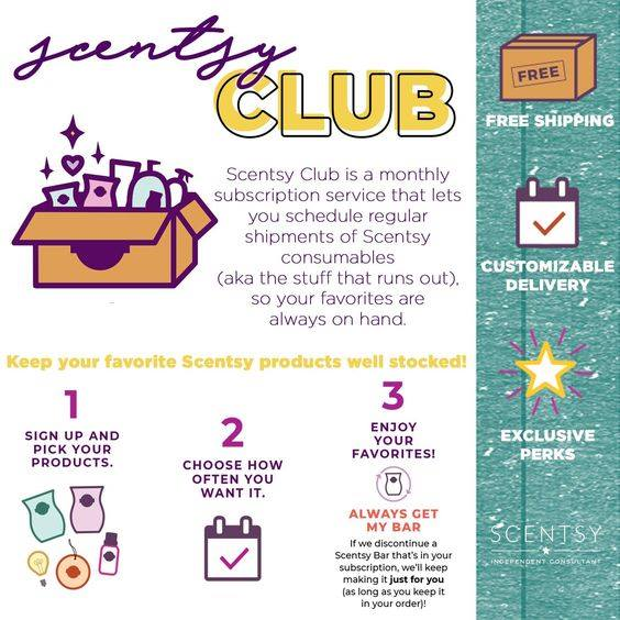 Scentsy Club FAQ