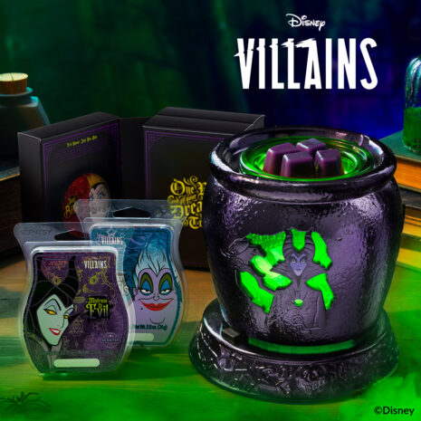 Maleficent Scentsy Warmer