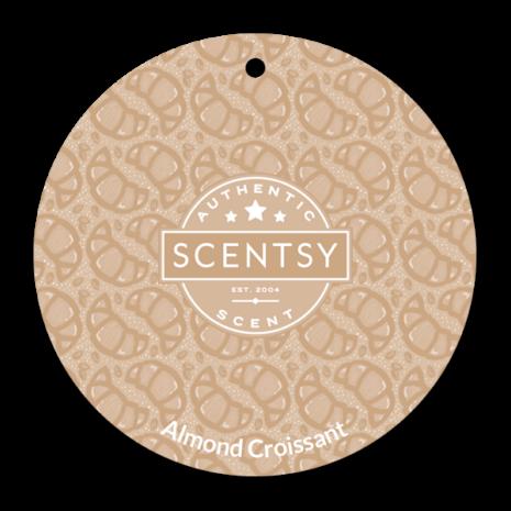 Almond Croissant Scent Circle