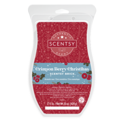 Crimson Berry Christmas Scentsy Brick