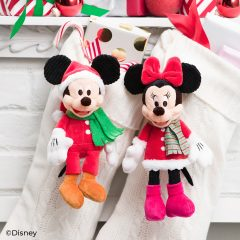 New Mickey and Minnie – Holiday Scentsy Buddy Clips