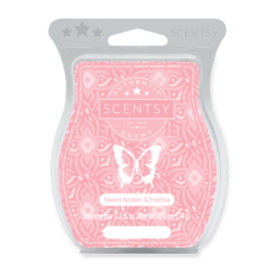 SWEET AMBER AND FREESIA SCENTSY BAR | BRING BACK MY BAR