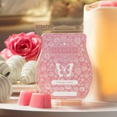 Strawberry Rose Scentsy Bar