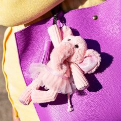 Allegra the Elephant Scentsy Buddy Clip