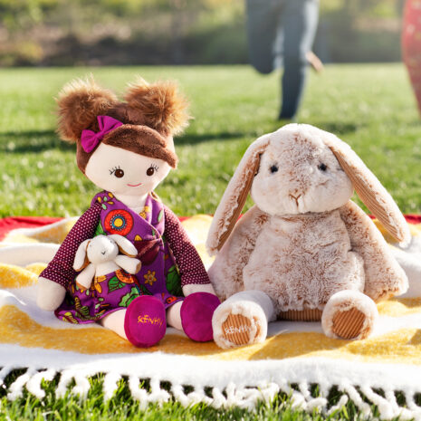 Brylee Scentsy Friend & Bailey the Bunny