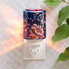 Midnight Floral Mini Warmer