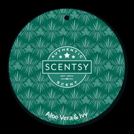Aloe Vera & Ivy Scentsy Scent Circle