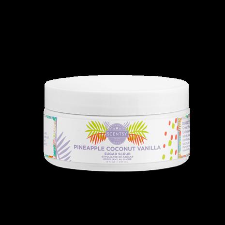 Pineapple Coconut Vanilla Sugar Scrub