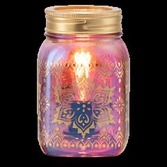Mandala Mason Jar Scentsy Warmer