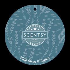 Blue Sage & Tonka Scent Circle