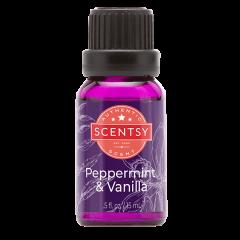 Peppermint & Vanilla Natural Oil Blend