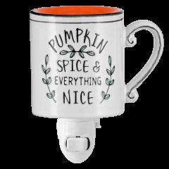 Pumpkin Spice Scentsy Warmer