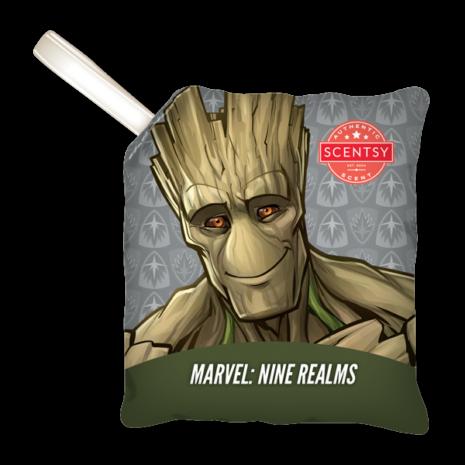 Marvel Nine Realms Groot Scentsy Scent Pak