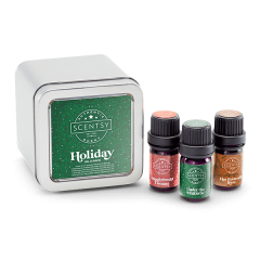 Holiday Scentsy Oil 3-Pack